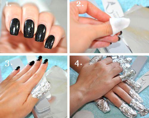 Как снять нарощенные ногти в домашних условиях 2018