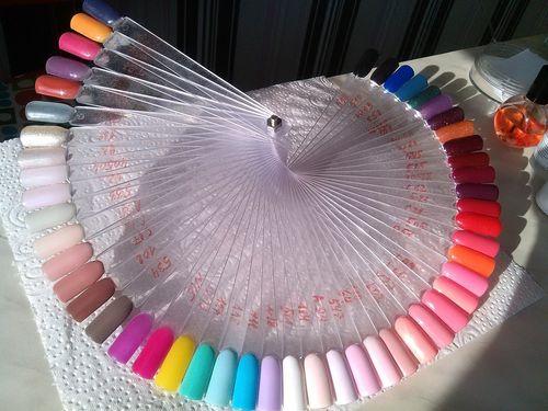 Цветовая палитра гель-лаков Коди