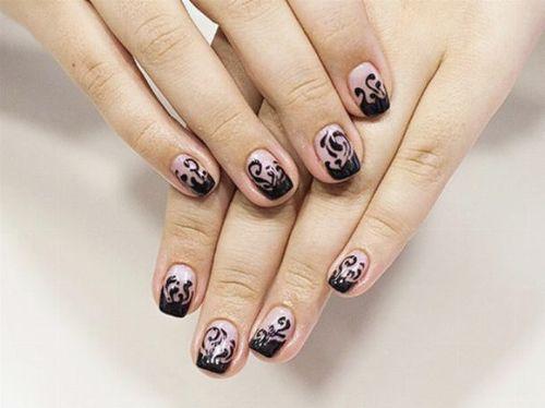 Мастер-класс по дизайну ногтей по мокрому гель-лаку
