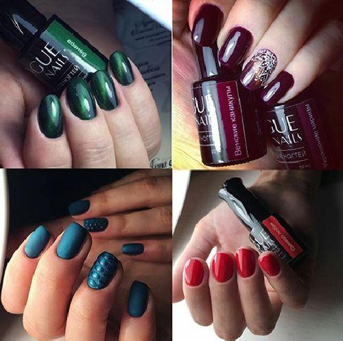 Палитра цветов гель-лаков Vogue nails